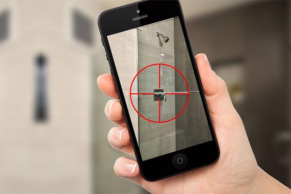 用反窃听探测器检测隐藏相机比想象容易